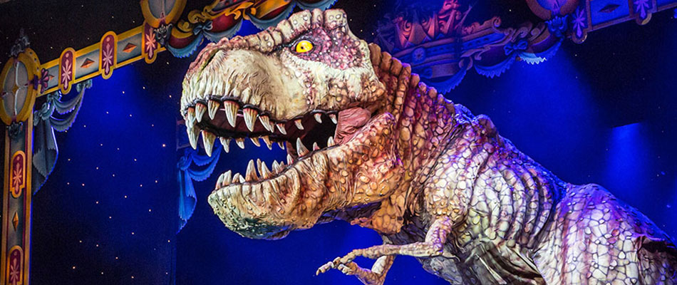 Walking Life Size T-Rex Dinosaur for Hire